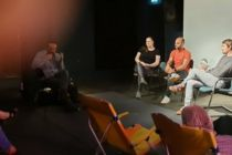 Diskussionsrunde im Anschluss an den Film
